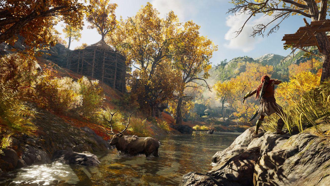 Игры с открытым миром Assassin's Creed: Одиссея