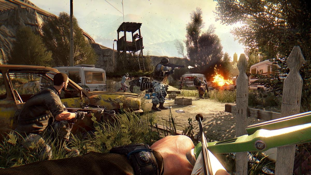 Игры с открытым миром Dying Light: The Following