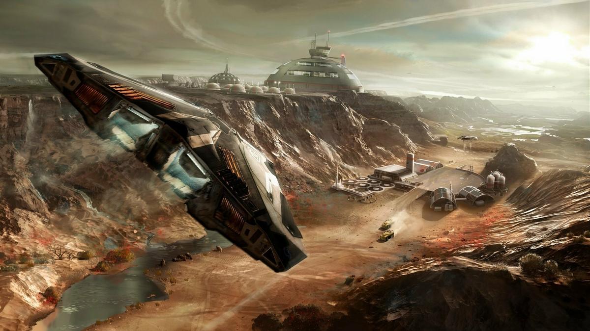 Игры с открытым миром Red Elite: Dangerous (2014)