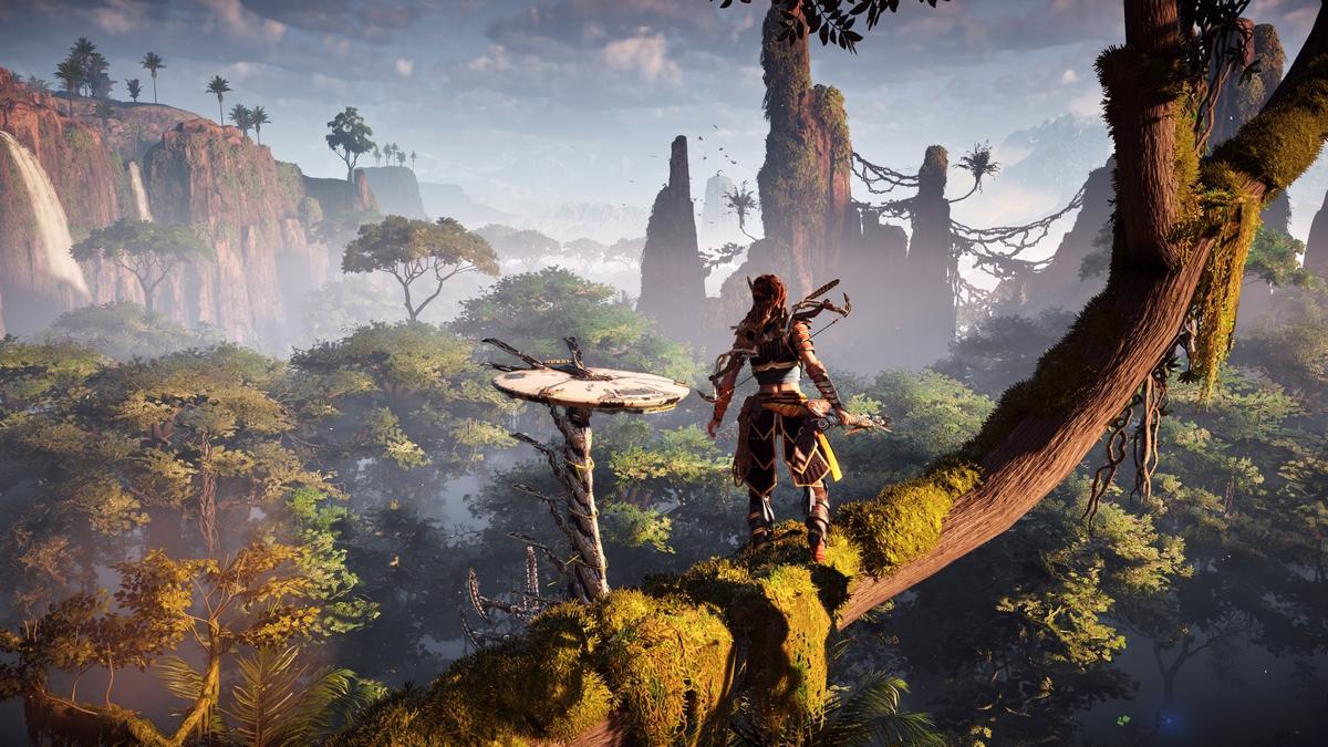 Игры с открытым миром Horizon Zero Dawn (2017)