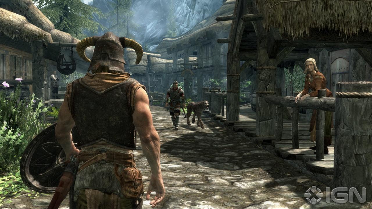 Игры с открытым миром The Elder Scrolls V: Skyrim