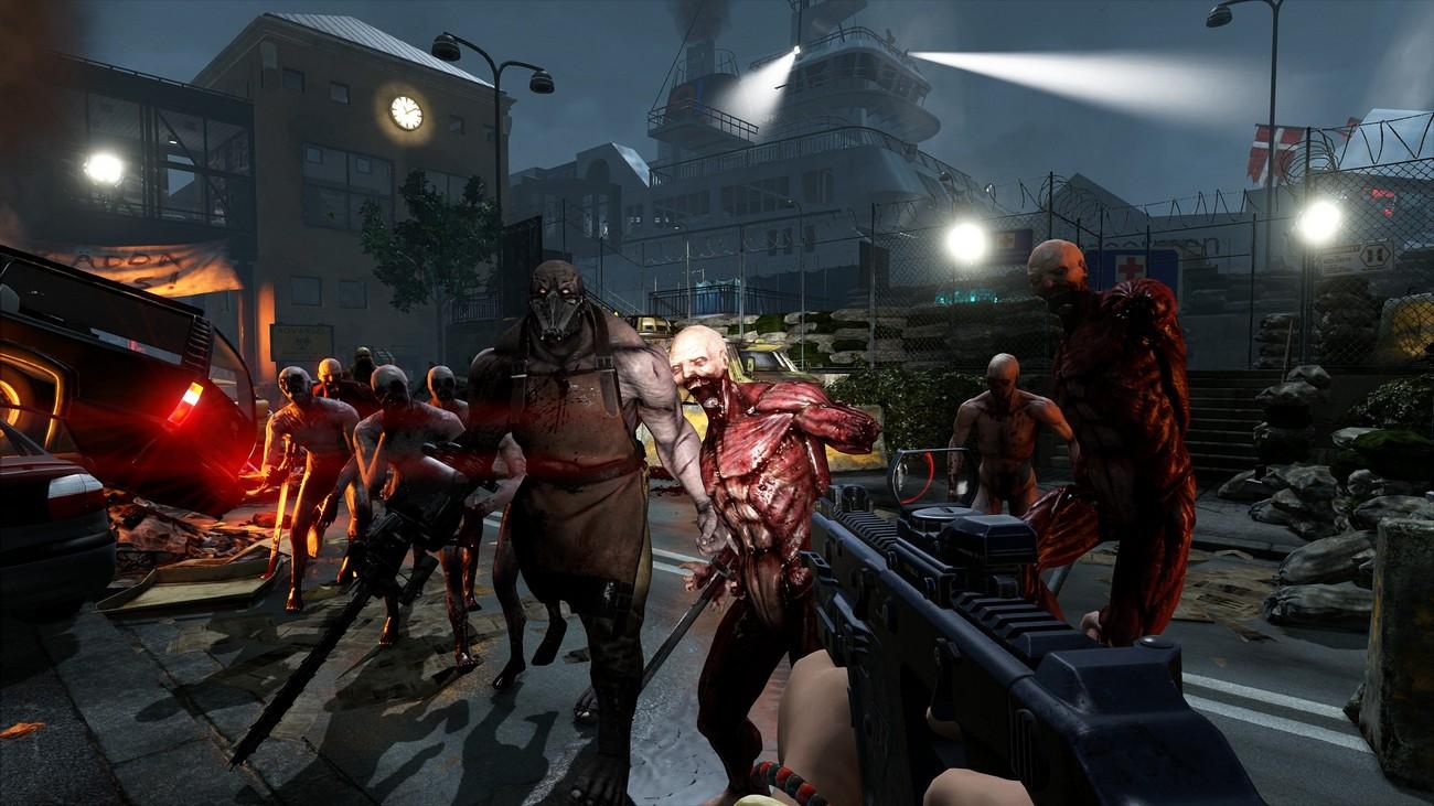 консольные игры про зомби