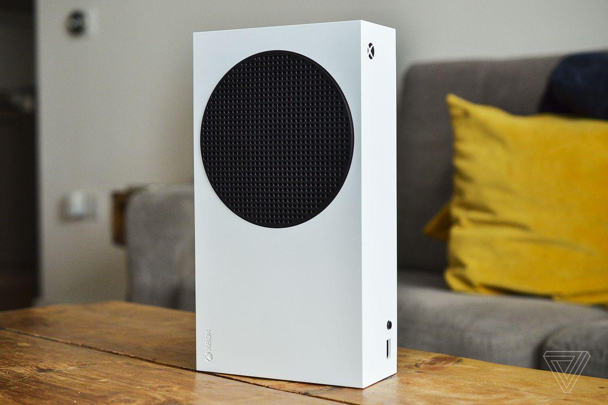 Приставка Xbox series S