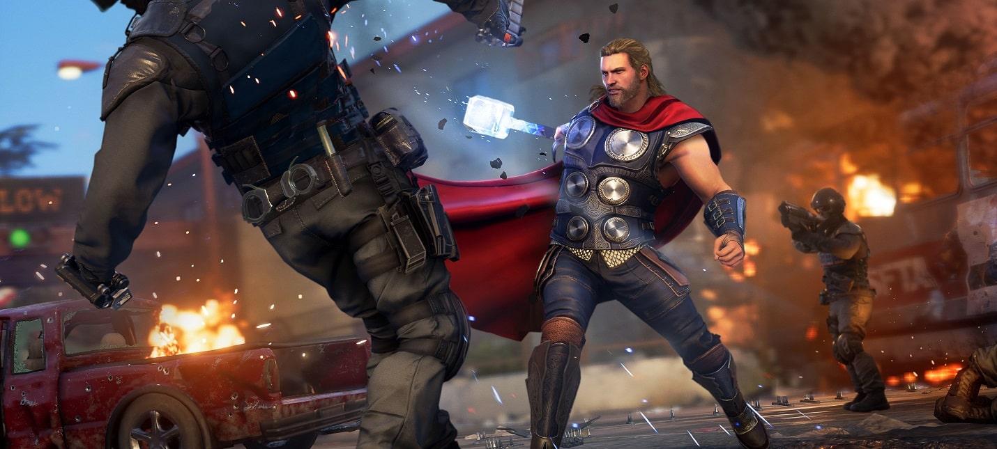 Консольные игры про супергероев